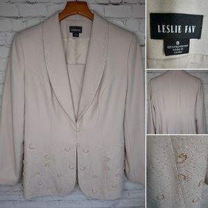 Leslie Fay suit jacket size 8